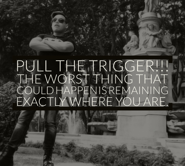 + Pull The Trigger On Life +